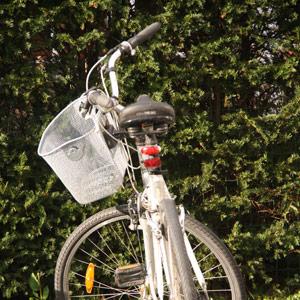 Maison avec vélos